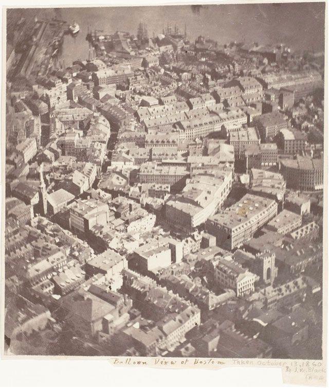 Первое фото с воздуха