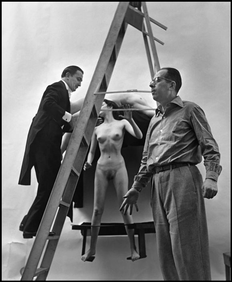 In Voluptate Mors. Salvador Dali's by Philippe Halsman 1951-04