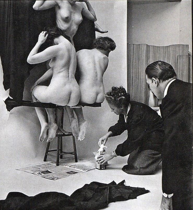 In Voluptate Mors. Salvador Dali's by Philippe Halsman 1951-07
