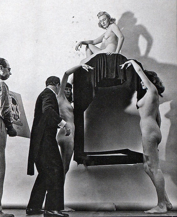 In Voluptate Mors. Salvador Dali's by Philippe Halsman 1951-08