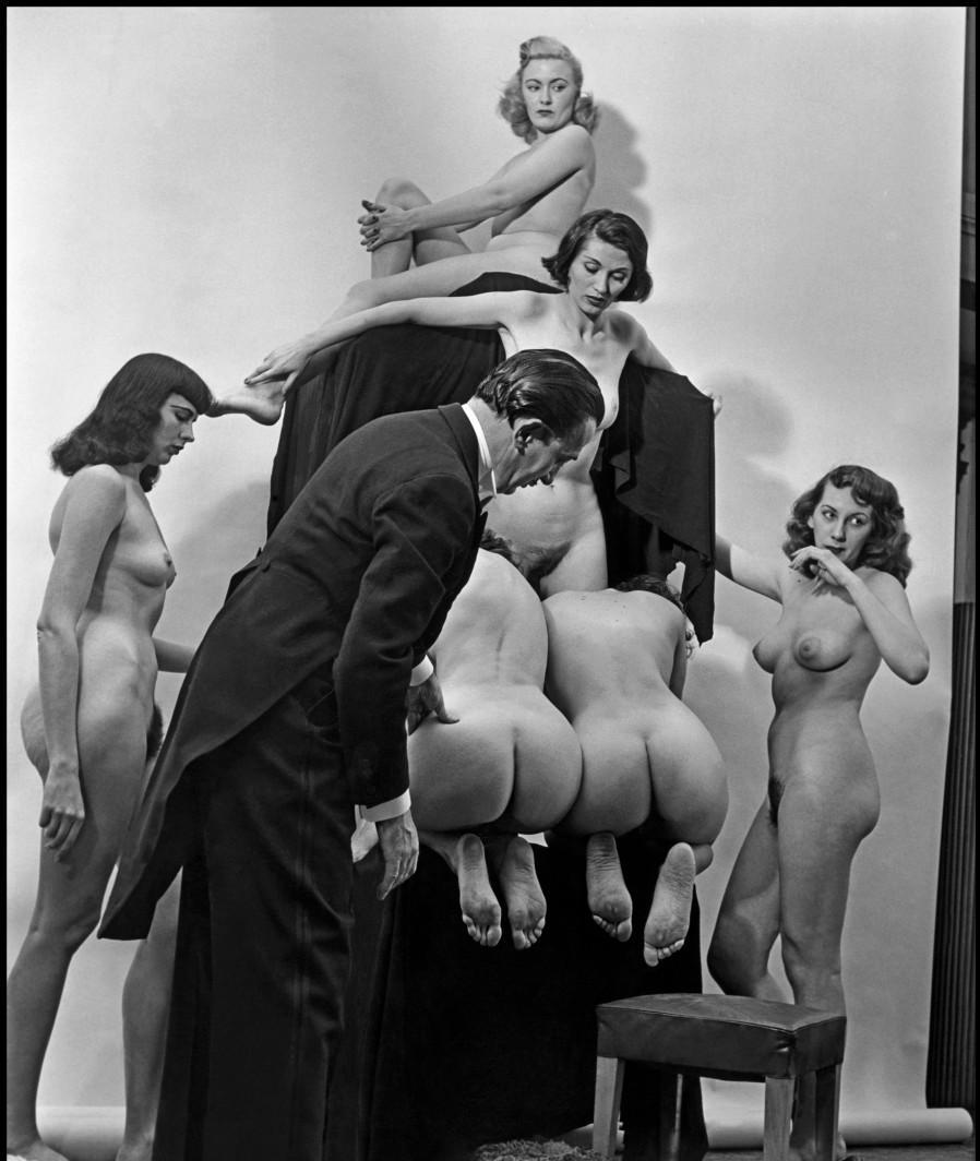 In Voluptate Mors. Salvador Dali's by Philippe Halsman 1951-10