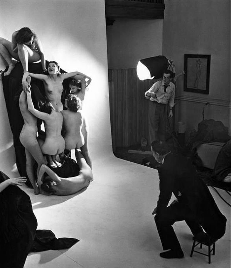 In Voluptate Mors. Salvador Dali's by Philippe Halsman 1951-11