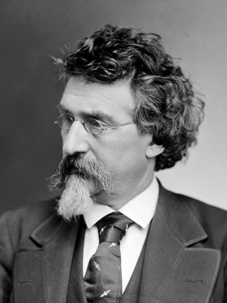 Первый автопортрет фотографа Mathew B. Brady