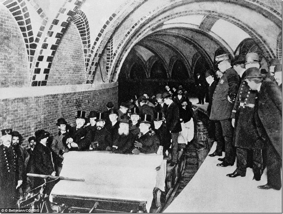 the-first-official-riders-in-new-york-city-first-subway-1904