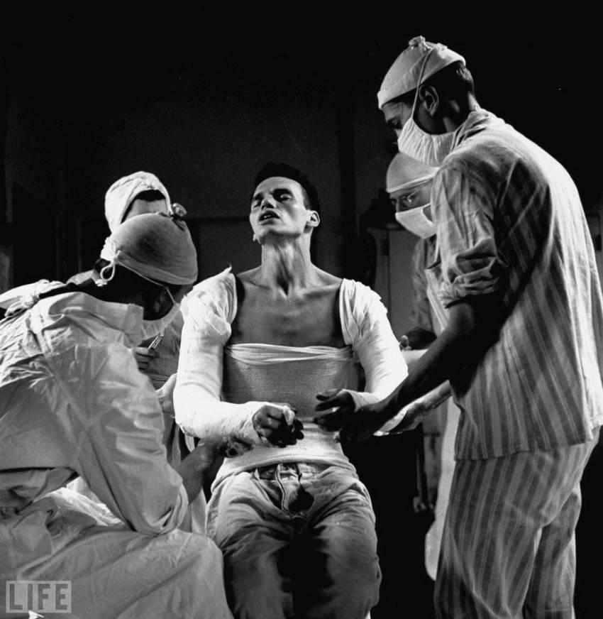 Agony. Photo by Ralph Morse, 1944