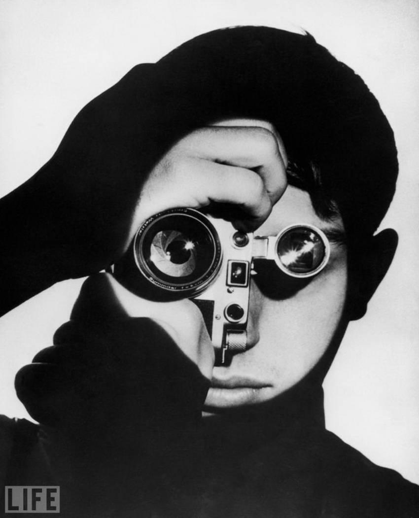 Dennis Stock. Photo by Andreas Feininger, 1951