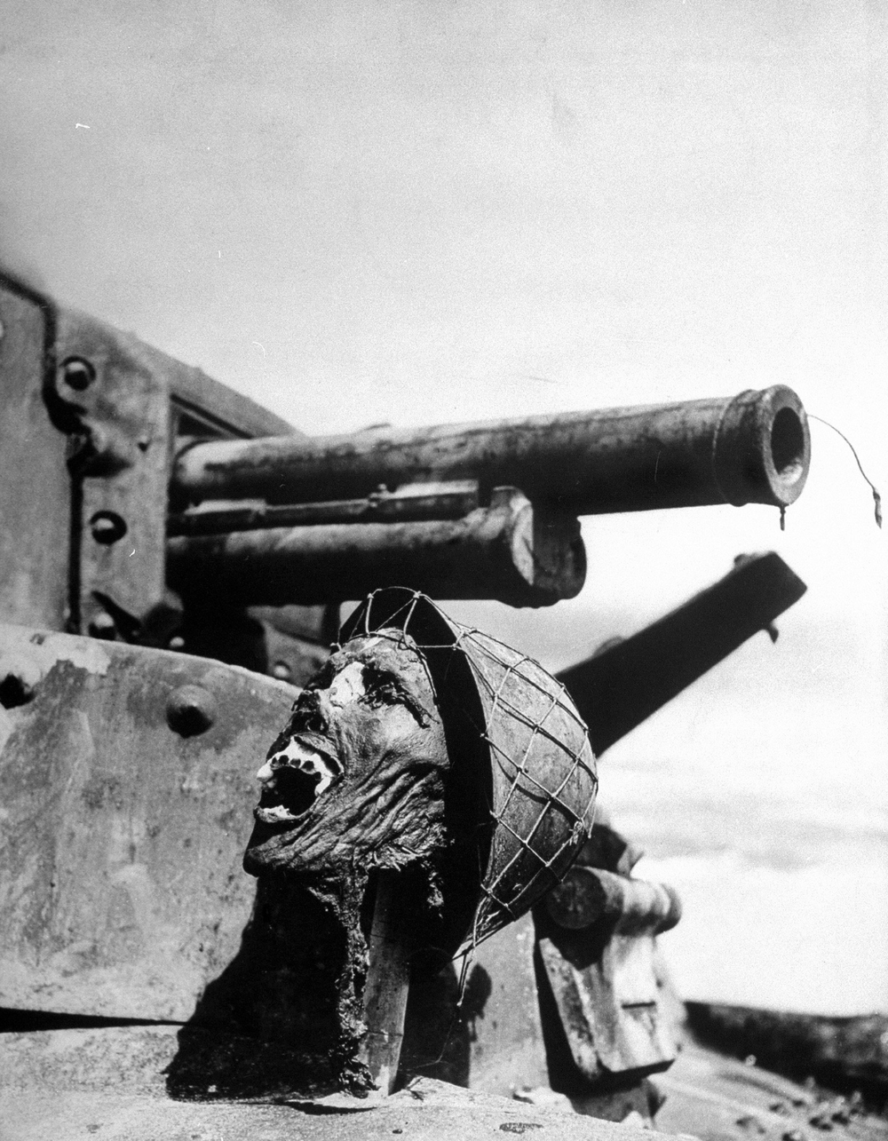 Face of Death. Photo by Ralph Morse, 1943