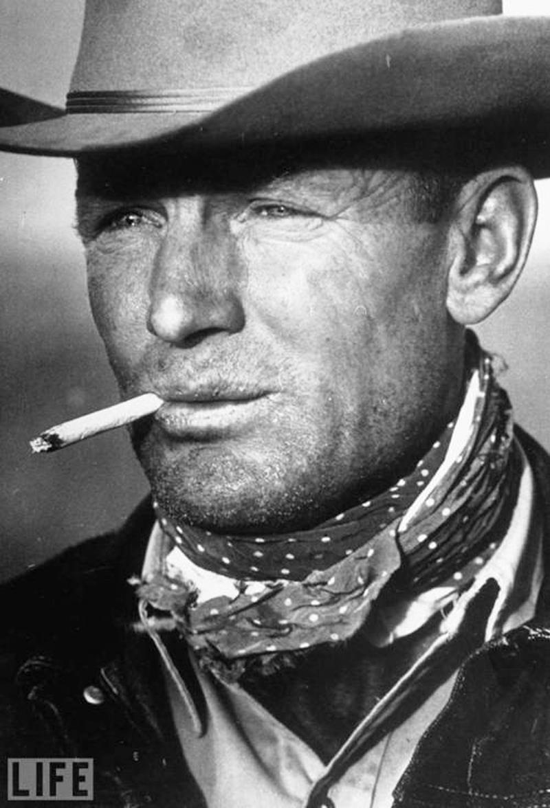 The Marlboro Man. Photo by Leonard McCombe, 1949