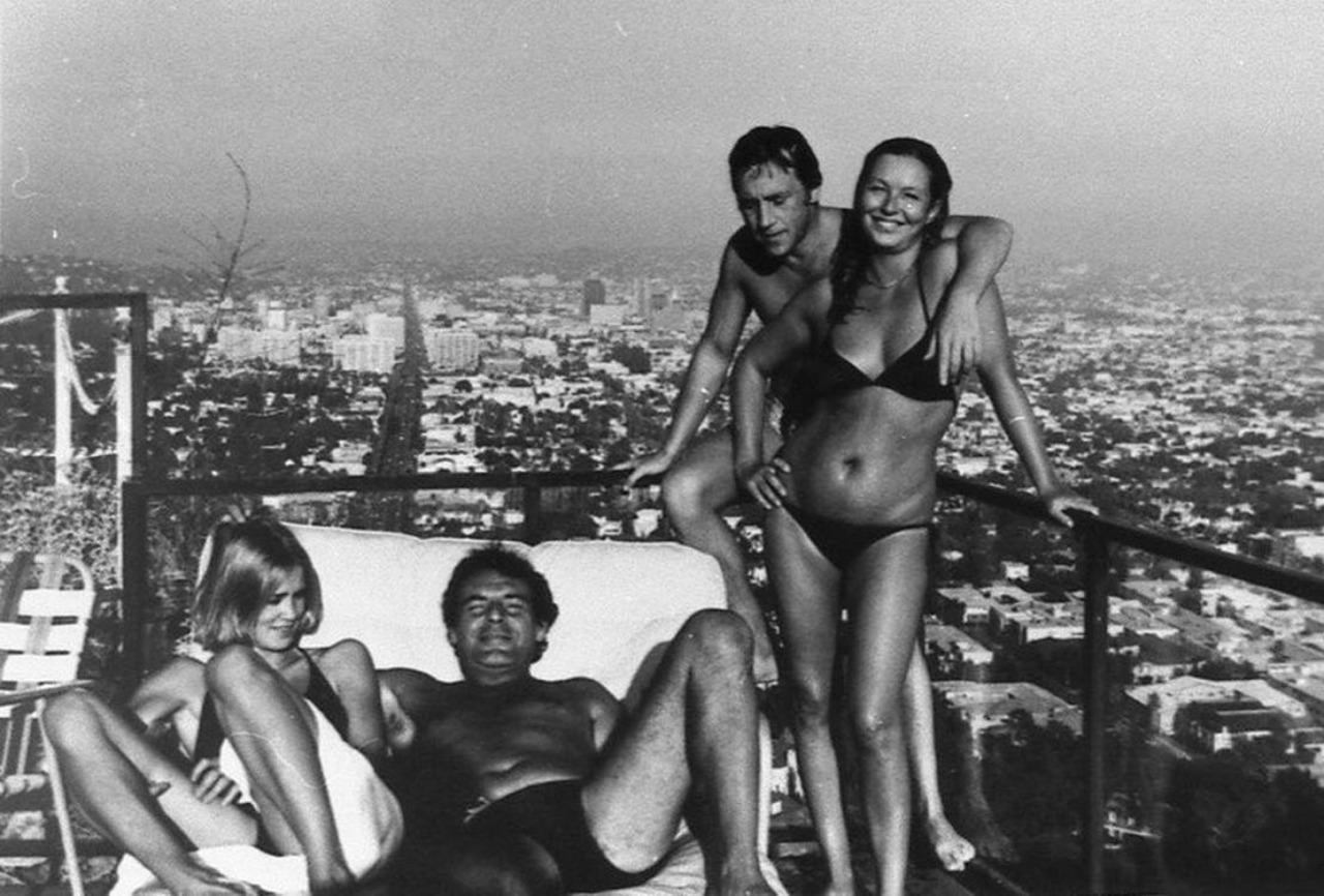 jessica-lange-milos-forman-vladimir-vysotsky-marina-vlady-los-angeles-1976
