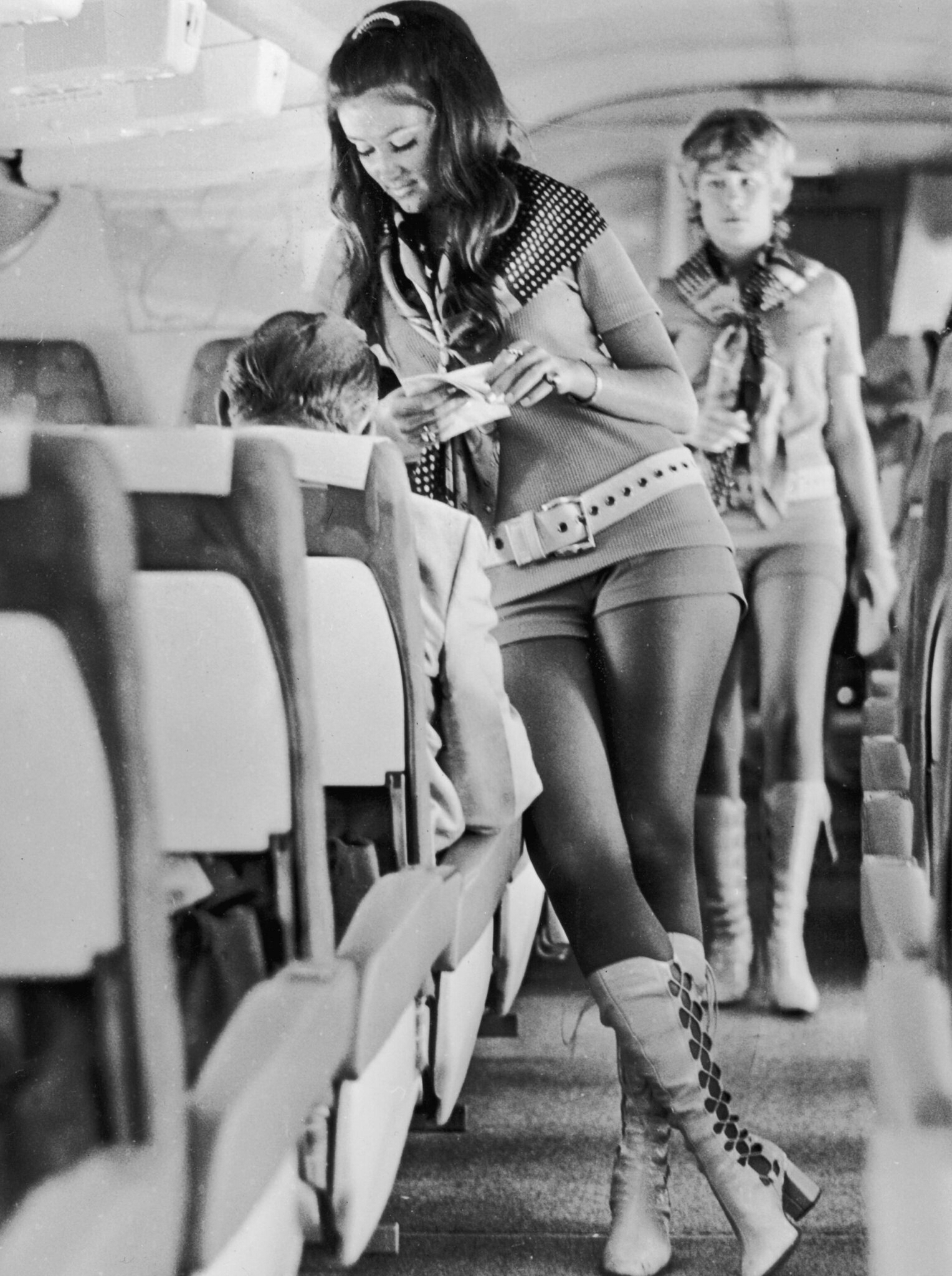 Southwest Airlines Flight Attendants From 1972