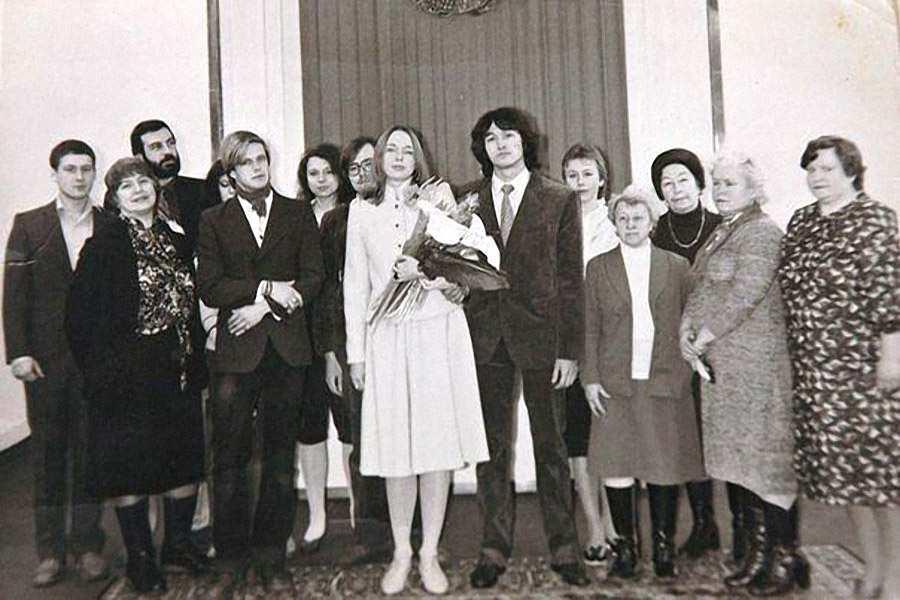 Виктор Цой и Марианна Родованская, Февраль 1985 года