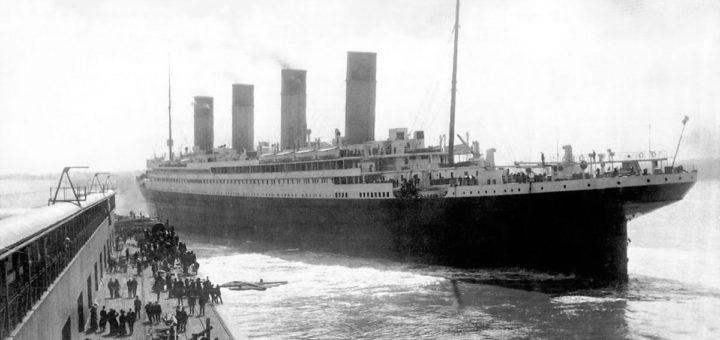 Отплытие Титаника из Саутгемптона. Англия, 10 апреля 1912.